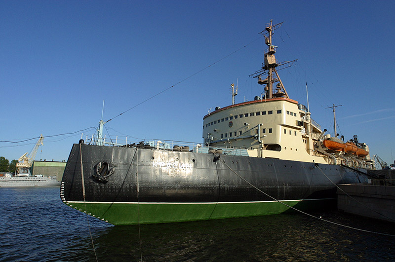 The Icebreaker Krasin Museum in St  Petersburg