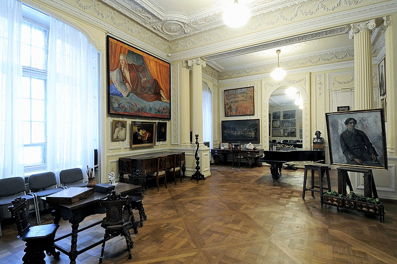Isaac Brodsky Apartment Museum in St Petersburg, Russia