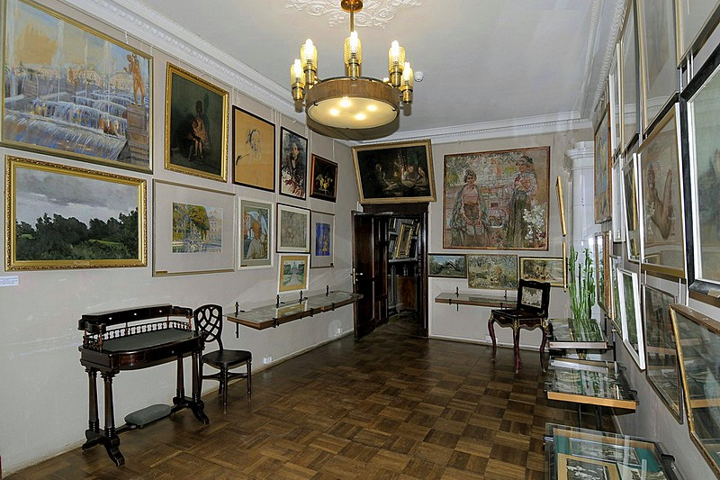 Collections of the Isaac Brodsky Apartment Museum in St Petersburg, Russia