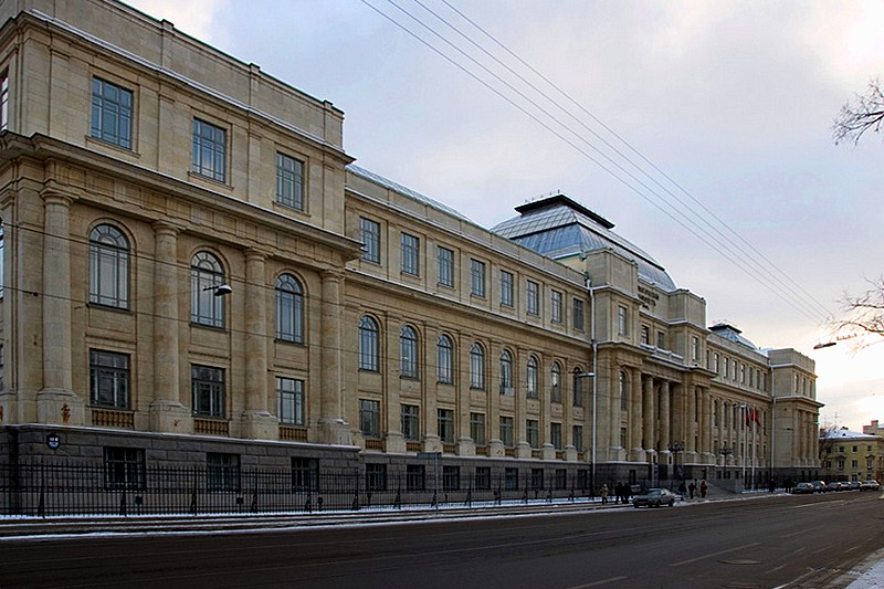 Mining Research Museum of VSEGEI Institute in St Petersburg, Russia