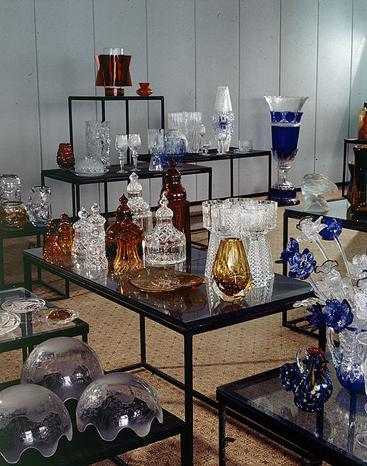 The Museum of Glass Art on Yelagin Island in St Petersburg, Russia