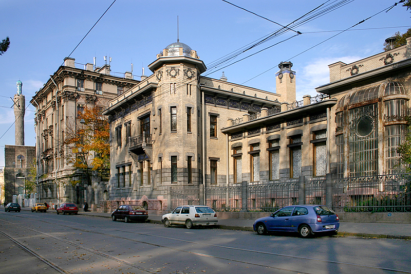 Kschessinska Mansion, now the Museum of Political History in St Petersburg, Russia
