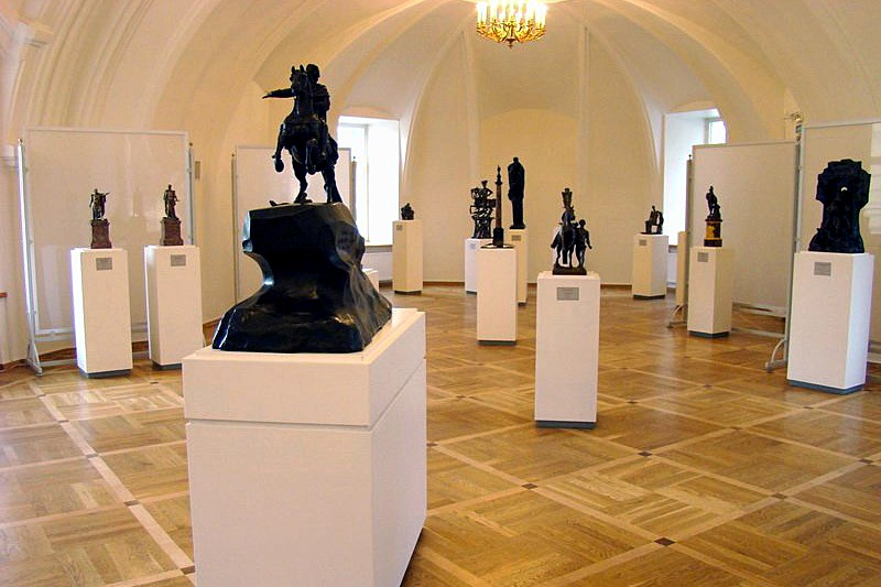 Collections of the Museum of Urban Sculpture in St Petersburg, Russia