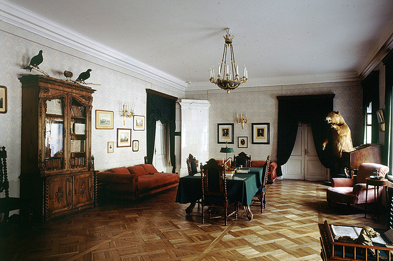 Inside Nikolay Nekrasov Apartment Museum in St Petersburg, Russia