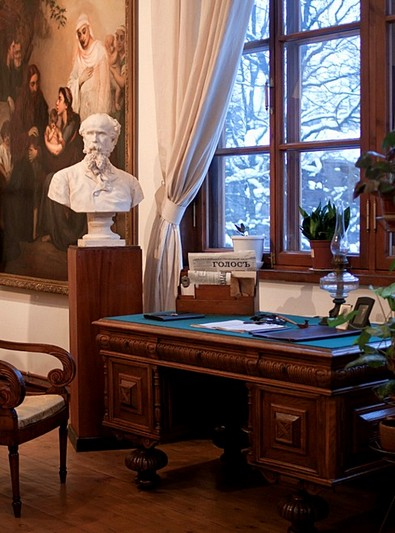 Collections at the Pavel Chistyakov House Museum in Saint-Petersburg, Russia
