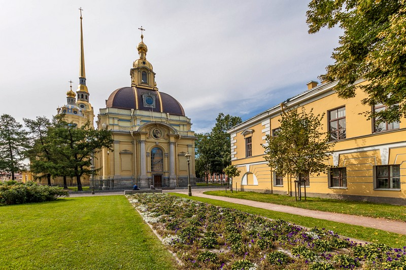 Grand-Ducal Burial Vault at the Peter and Paul Fortress in St Petersburg, Russia
