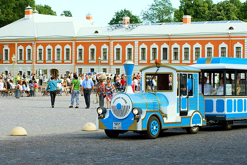 Yet another way to sightsee at the Peter and Paul Fortress in St Petersburg, Russia