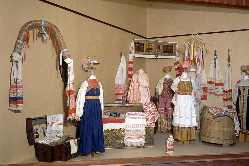 Collection of the Russian Ethnography Museum in St Petersburg