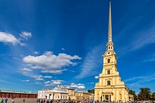 Ss. Peter and Paul Cathedral in St. Petersburg, Russia