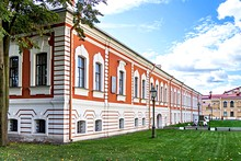 Commandant's House at St. Petersburg's Peter and Paul Fortress