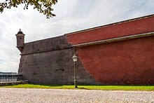 Gosudaryev Bastion at St. Petersburg's Peter and Paul Fortress