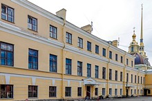 Main Treasury at St. Petersburg's Peter and Paul Fortress