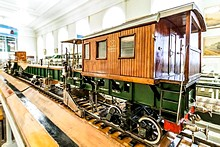 Central Railway Museum, St. Petersburg, Russia