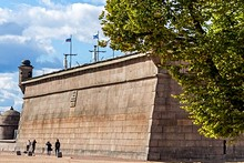 Trubetskoy Bastion at St. Petersburg's Peter and Paul Fortress