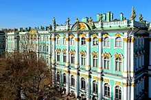 Winter Palace and Main Museum Complex in St. Petersburg, Russia