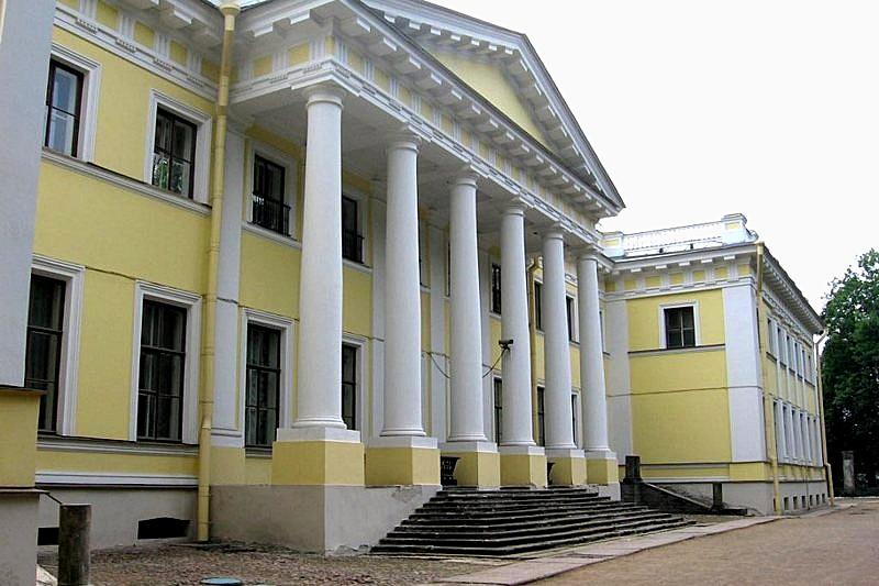 Kamennoostrovsky Palace on Kamenniy Island in St Petersburg, Russia