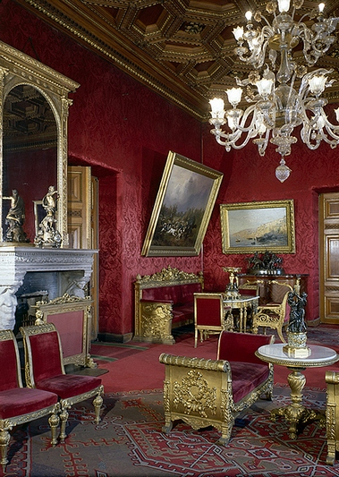 Interior of the Palace of Grand Duke Vladimir Alexandrovich in St Petersburg, Russia