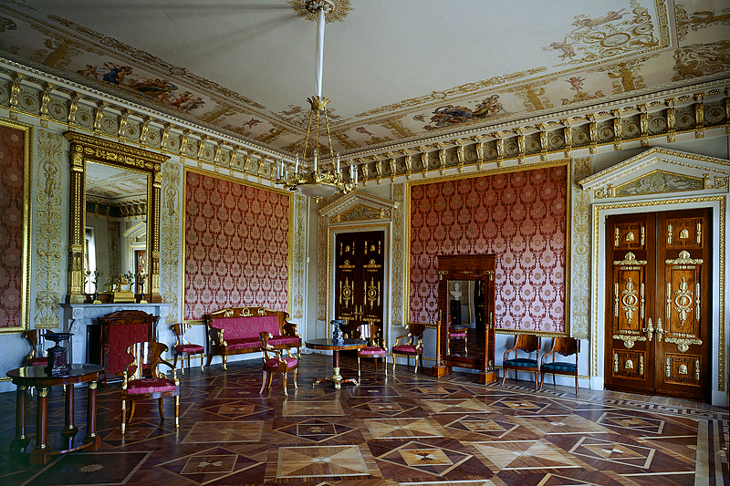 State Rooms of Yelagin Palace in Saint Petersburg, Russia