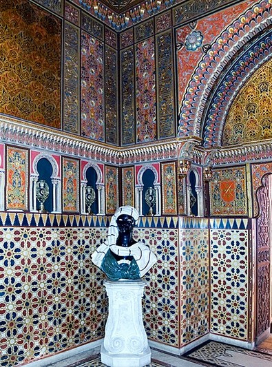 Moorish Drawing Room at the Yusupov Palace in Saint-Petersburg, Russia