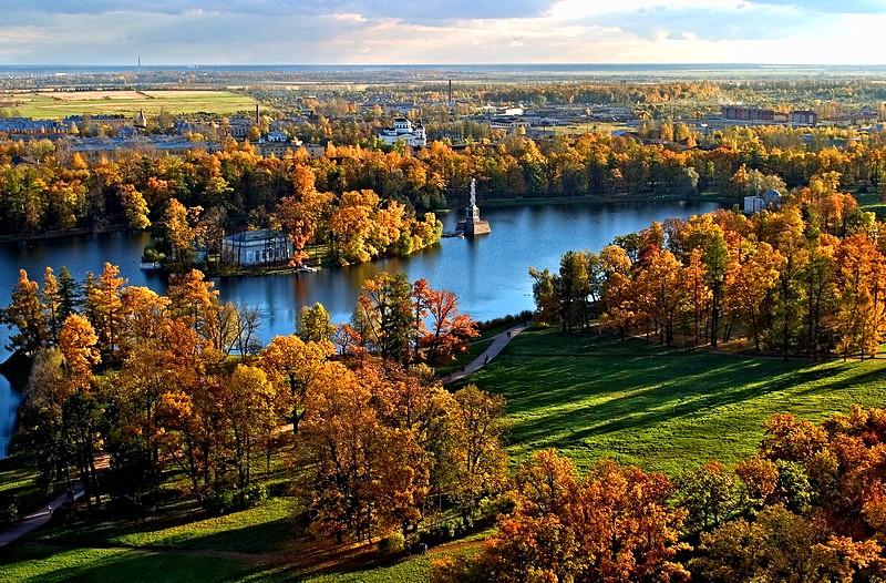 Catherine Park, Tsarskoe Selo, Saint Petersburg