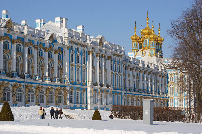 Saint Petersburg Russia  City new picture : ... Palace in Tsarskoye Selo Pushkin , south of St Petersburg, Russia