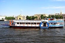 City Blues Jazz Riverboat and Restaurant, St. Petersburg, Russia