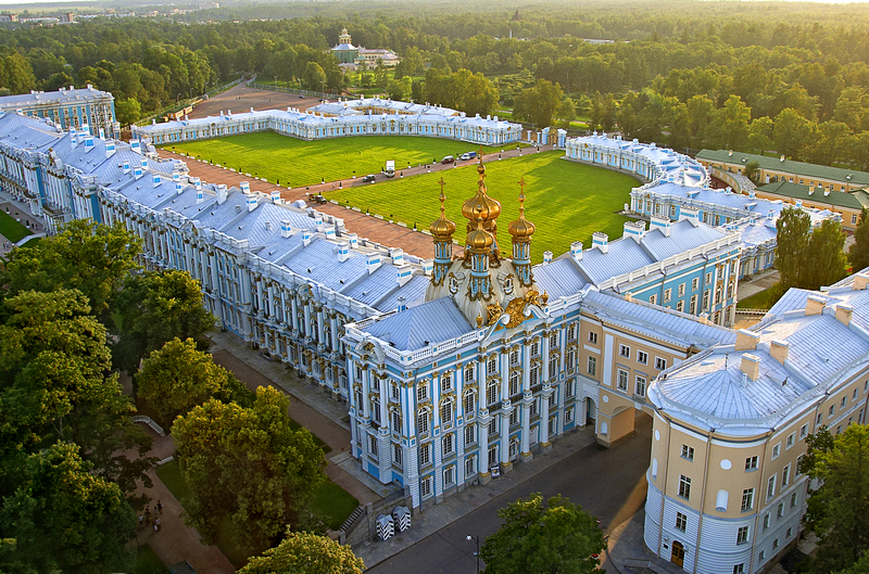Tsarskoye Selo (Pushkin) near Saint Petersburg