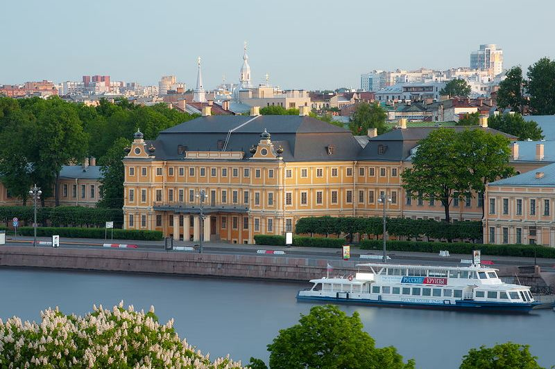 The Menshikov Palace in Saint Petersburg, Russia