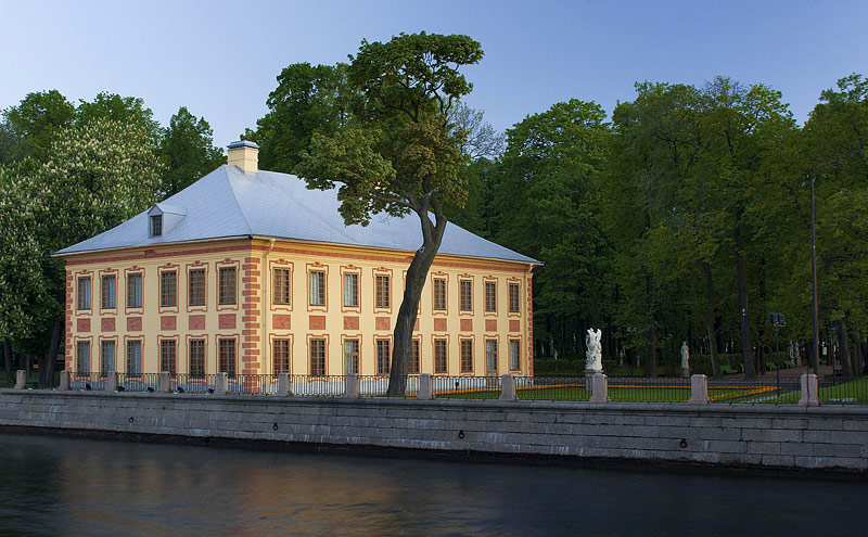 Peter the Great's Summer Palace and Gardens in Saint Petersburg, Russia