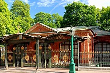 'The Cabin of Peter the Great, St. Petersburg, Russia' from the web at 'http://www.saint-petersburg.com/images/virtual-tour/thumbnails/cabin-of-peter.jpg'