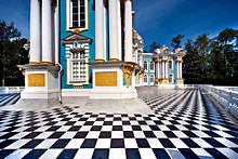 'The Parks and Palaces of Pushkin, St. Petersburg, Russia' from the web at 'http://www.saint-petersburg.com/images/virtual-tour/thumbnails/pushkin.jpg'