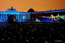 Hermitage 250th Anniversary videomapping in St. Petersburg