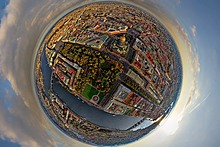 Saint Petersburg 360° Aerial Panorama