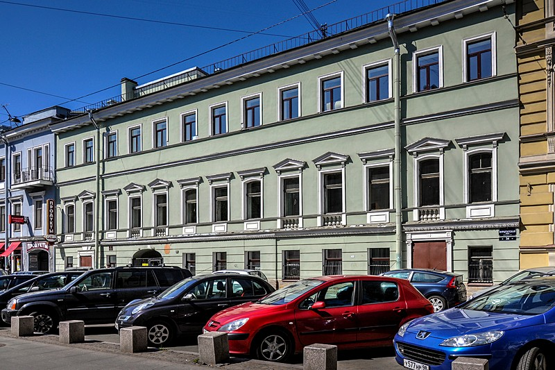 Count Grabbe House - former US Embassy in Imperial St Petersburg, Russia