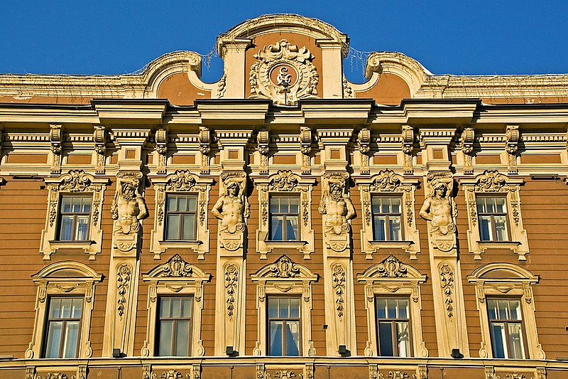 Grand Hotel Europe on Arts Square in Saint-Petersburg, Russia