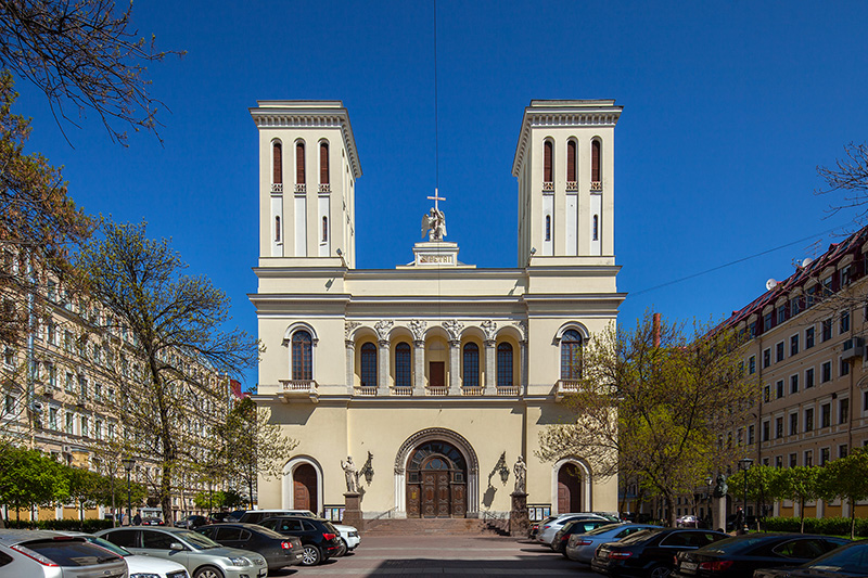 german architectural gems in st petersburg russia