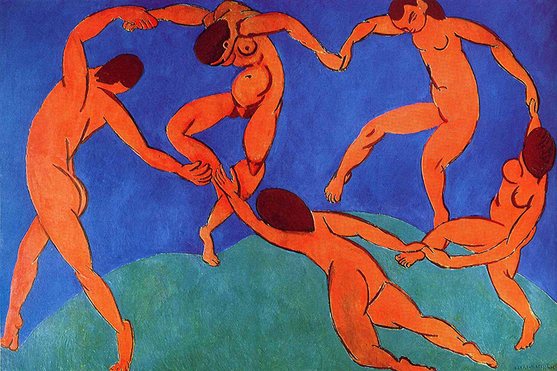 Dance by Henri Matisse at the Hermitage in St. Petersburg, Russia
