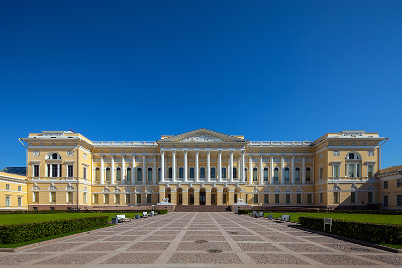 Mikhailovsky Palace in St. Petersburg, Russia