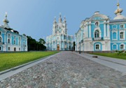 White Nights - Smolny Convent, St. Petersburg, Russia
